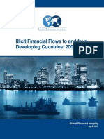 Illicit Financial Flows to and from Developing Countries