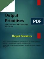 Output Primitives Ppt
