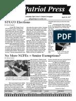 afhs april 28 issue
