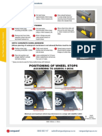 Wheel Stop Installation Procedure