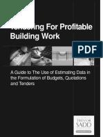 Tendering for Profitable Building Work