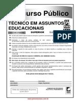 18 Tecnico Assuntos Educacionais