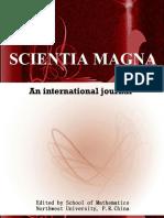 Scientia Magna Vol. 11 No 1, 2016