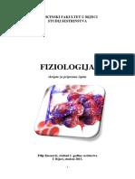 Fiziologija - Skripta Za Pripremu Ispita