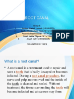 Root Canals + Passive Voice