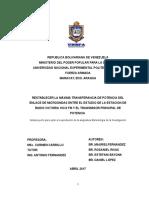 RESTABLECER LA MÁXIMA TRANSFERENCIA DE POTENCIA DEL ENLACE DE MICROONDAS ENTRE EL ESTUDIO DE LA ESTACIÓN DE RADIO Y EL TRANSMISOR PRINCIPAL DE POTENCIA