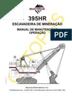 BUCYRUS 395HR - MANUAL DE OERAÇÃO E MANUTENÇÃO.pdf