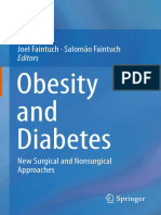 Obesity and Diabetes New Surgical and Nonsurgical Approaches - Joel Faintuch, Salomão Faintuch