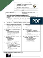 Evaluación Como Domesticar a Tus Papás