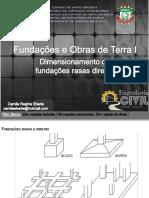 Fot 6911aula 4- Dimensionamento de Fundayes Basas Dibetas PDF