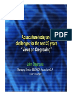 Challenges for Aquaculture