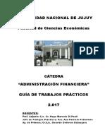 FCE UNJU GUIA TP 2017 Adm Financiera Unidad 1a3