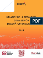 CCB.BalancedelaeconomadelareginBogot-Cundinamarca2014