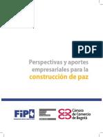 Perspectivas y Aportes Empresariales Para La Construccion de Paz