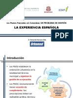 Planes Parciales_Experiencia Española