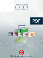 APL Industries Berhad Annual Report 2003