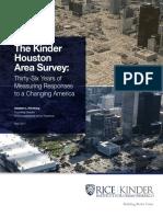 The Kinder Houston Area Survey
