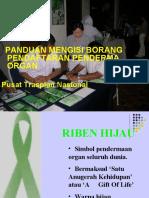 Cara Isi Borang Pendermaan Organ (Pusat Transplan Nasional)