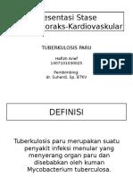 Hafizh Arief 1407101030025 - Tuberkulosis Paru