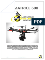 Catalogo - Dji Matrice 600