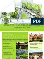 Urban Space, Urban Form and Urban Design Fix!
