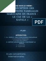 La Réception Des Institutions Familials Marocaines Dans Le Droit Français Le Cas de La Kafala