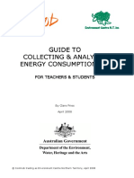 Guide to Collecting Analysiing  Energy Data 6782