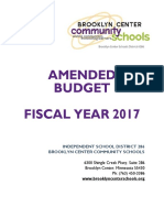 budget book fy17 - amendment