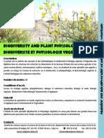Fiche Descriptive Master Biodiversit Pv
