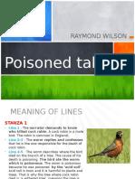 POISONED TALK by Raymond Wilson.pptx