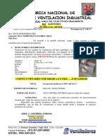 Cotización AIR PERU