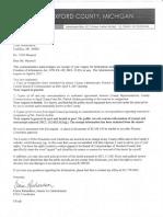 Patrick Jordan Resignation Letter