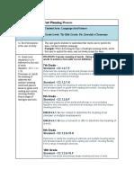 unit plan document