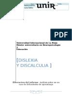Trabajo de Dislexia