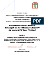 Double Punch Test for Asphalt Mixture by Abdul_Haq Hadi Alhaddad and Abdulmohaimen J. Addahhan