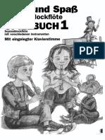 Gerhard Engel, Gudrun Heyens, Konrad Hunteler, Hans-Martin Linde. Spiel Und Spab Mit Der Blockflote. Spielbuch 1 (1990)(de)(ST)(600dpi)(42s) [S,A,T,B]