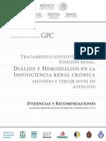Gpc Evidencias y Recomendaciones TX Sustantivo de La Funci‡n Renal