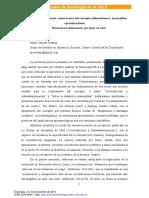 Sobredeterminación, Notas Acerca Del Concepto Althusseriano y Sus Posibles Aproximaciones