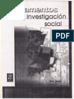 Babbie Fundamentos de la investigación social