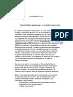 Colectivo Solecito de Veracruz  se pronuncia por caso Alfonso Zenteno