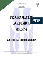 Programación Sem. 2017-1 (Versión 26-10-2016)