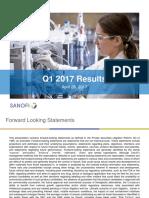 Sanofi 2017-04-28 Results Q12017 Slides
