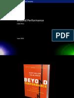 Beyond Performance for Cisco v2 23-6-11