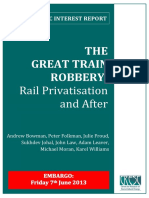The Great Train Robbery - Rail Privatisation and After.pdf