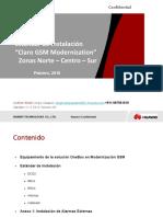 Estandar de Instalacion Claro GSM Modernization Provincia V1.4_20160420