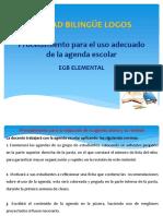 Agenda- procedimiento