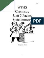 Stoichiometry unit