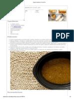 Sopa de Cebolla en Crock Pot