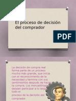 El Proceso de Decisión Del Comprador