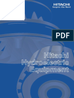 Hitachi Hydroelectric Equipment